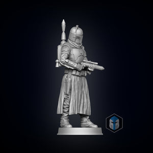 Boba Fett Figurine - Pose 1 - 3D Print Files - Galactic Armory