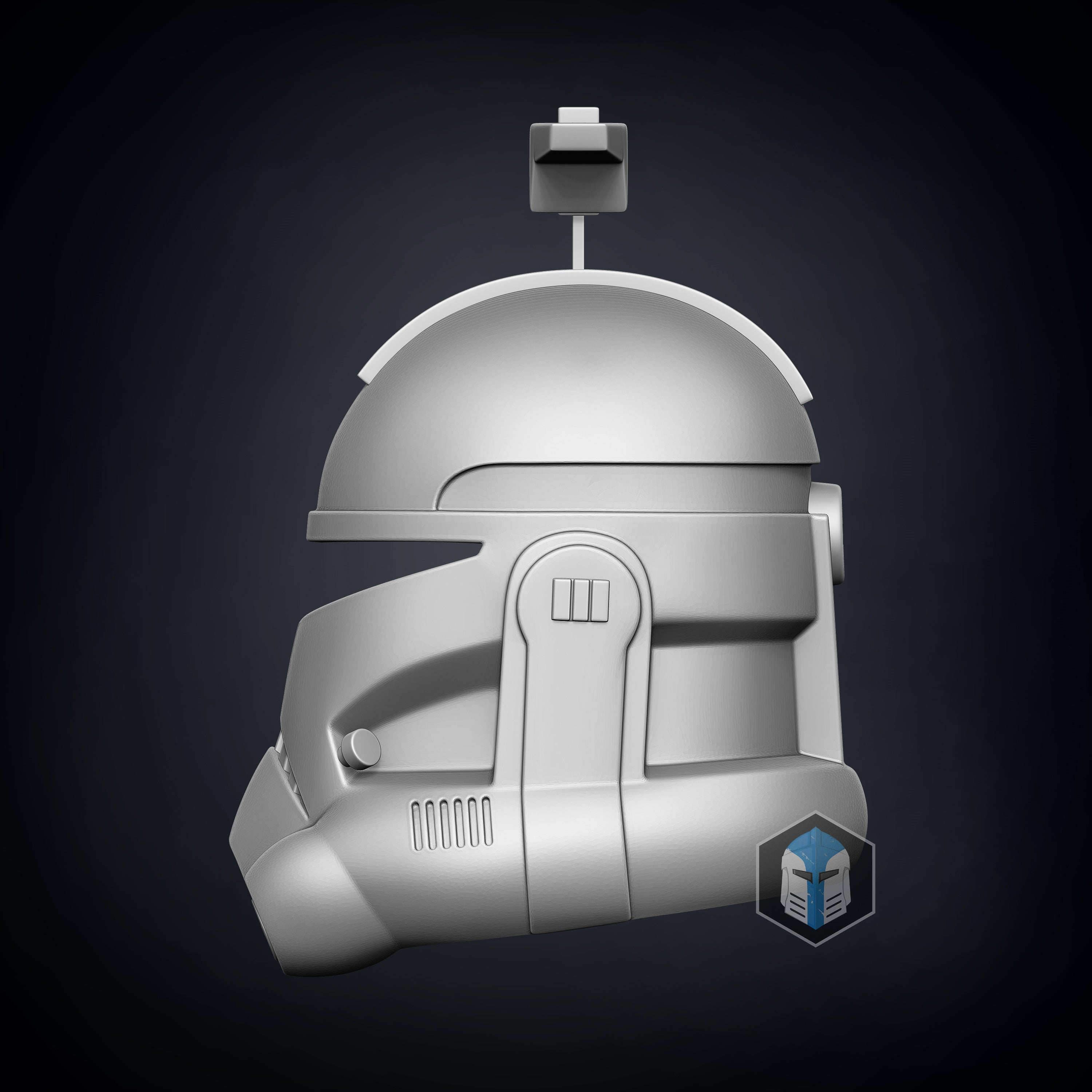 Animated Captain Rex Helmet - 3D Print Files - The Galactic Armory