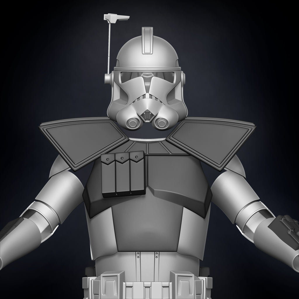ARC Clone Trooper Armor Accessories - 3D Print Files - Galactic Armory