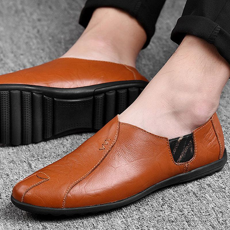 Luxury Breathable Slip on Moccasins Driving Men's Loafers Shoes