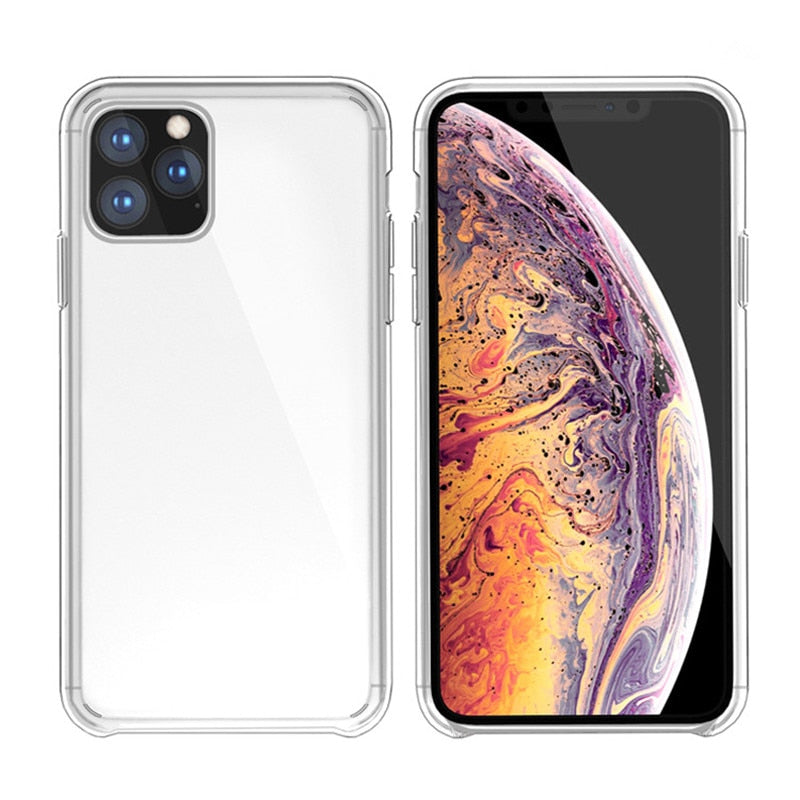 1:1 Original Official Clear Case For iPhone