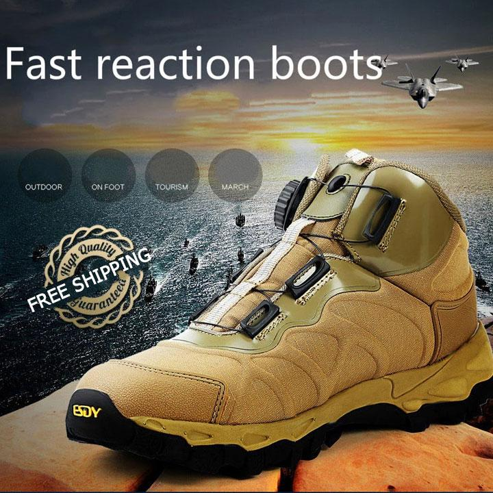 Outdoor Tactical Military Combat Boots