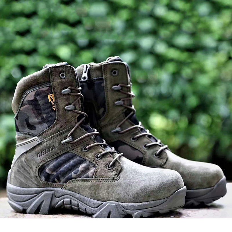 Camouflage Military Combat Tactical Boots