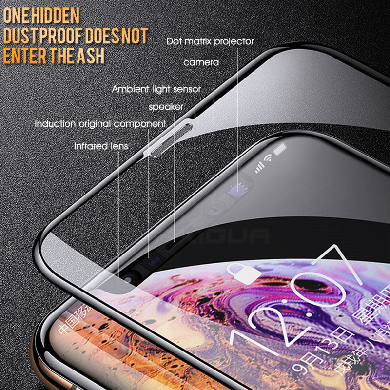 30D Full Cover Tempered Glass Screen Protector For iPhone