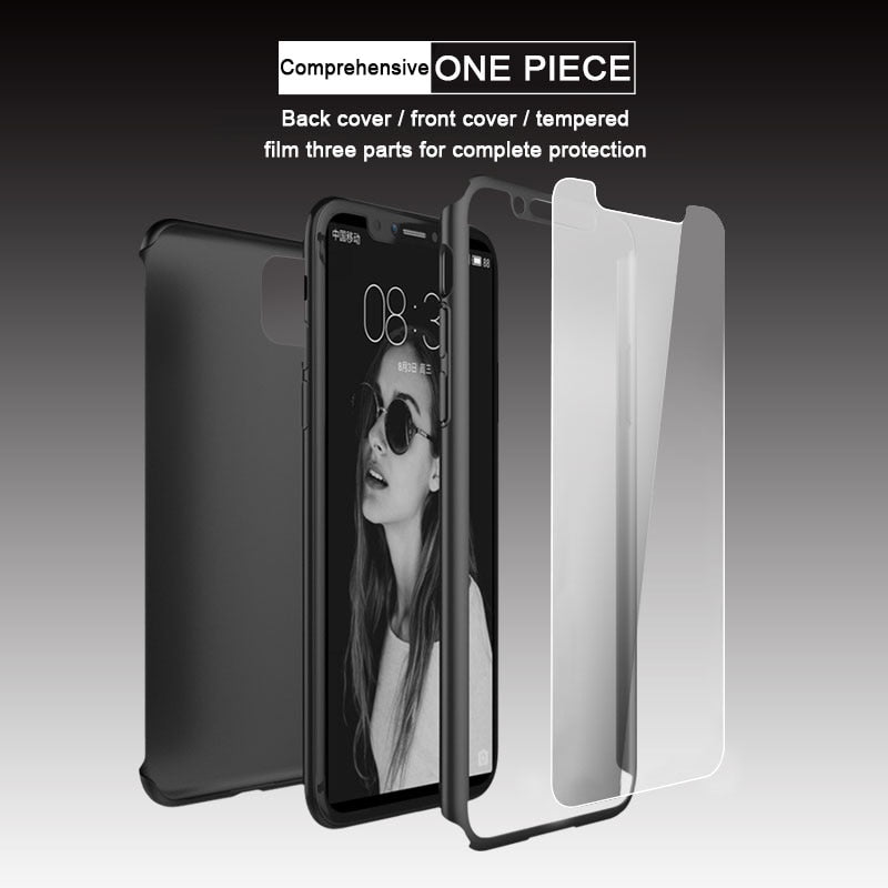 360 Full Cover Protective Case For iPhone