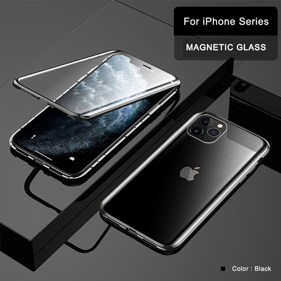 360 Luxury Magnetic Case For iPhone