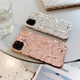 3D Dream Shell Plating Silver Gold Foil Case for Iphone