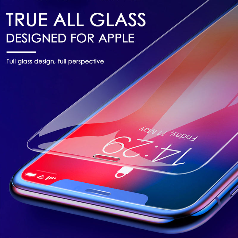 Full Cover Curved Edge glass Screen Protector For iPhone(Buy 2, Only 25.99$)