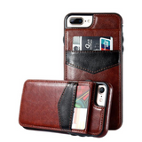 Phone Case - Luxury Flip Leather Wallet Cases For iPhone