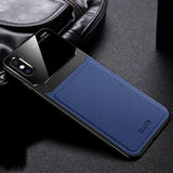 Litchi TPU Soft Shell Mirror Case for iPhone