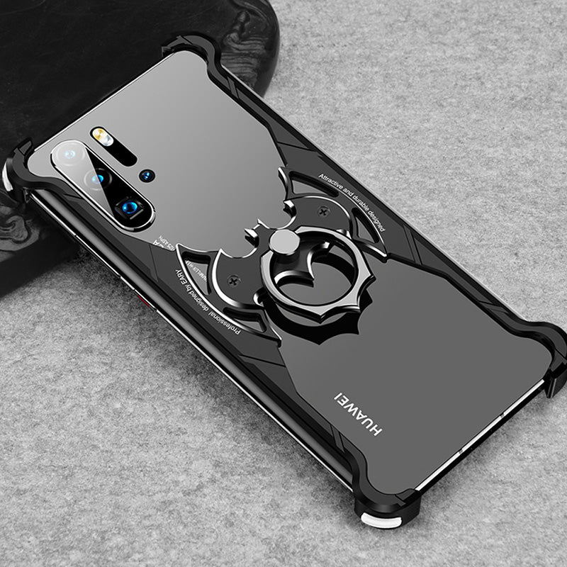 Luxury Metal Bumper Back Cover for Huawei