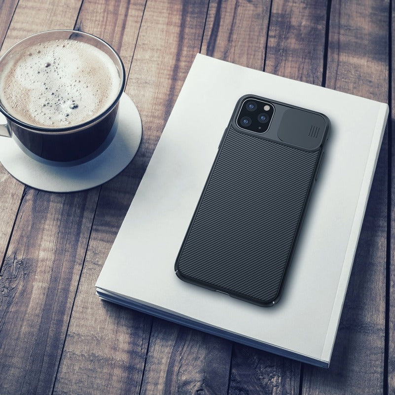 Slide Cover Phone Case for Camera Protection for iPhone 11