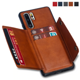 Card Holders Wallet Case for Huawei