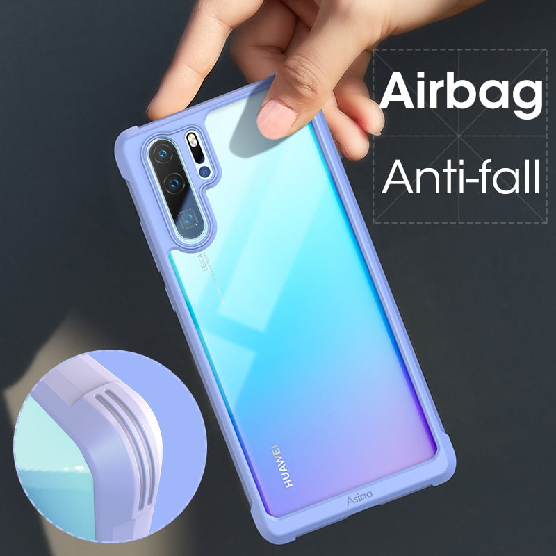 Silicone Luxury Bumper Case For Huawei