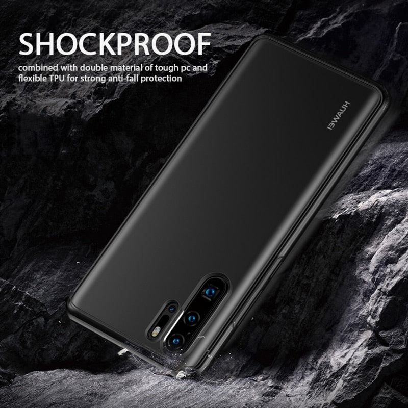 Luxury Shockproof Glossy Case For Huawei