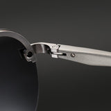 Aluminum magnesium HD polarized fashion Sunglasses with box(BUY 2 pcs GET 15% off)