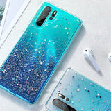 Luxury Bling Gltter Star Case For Huawei