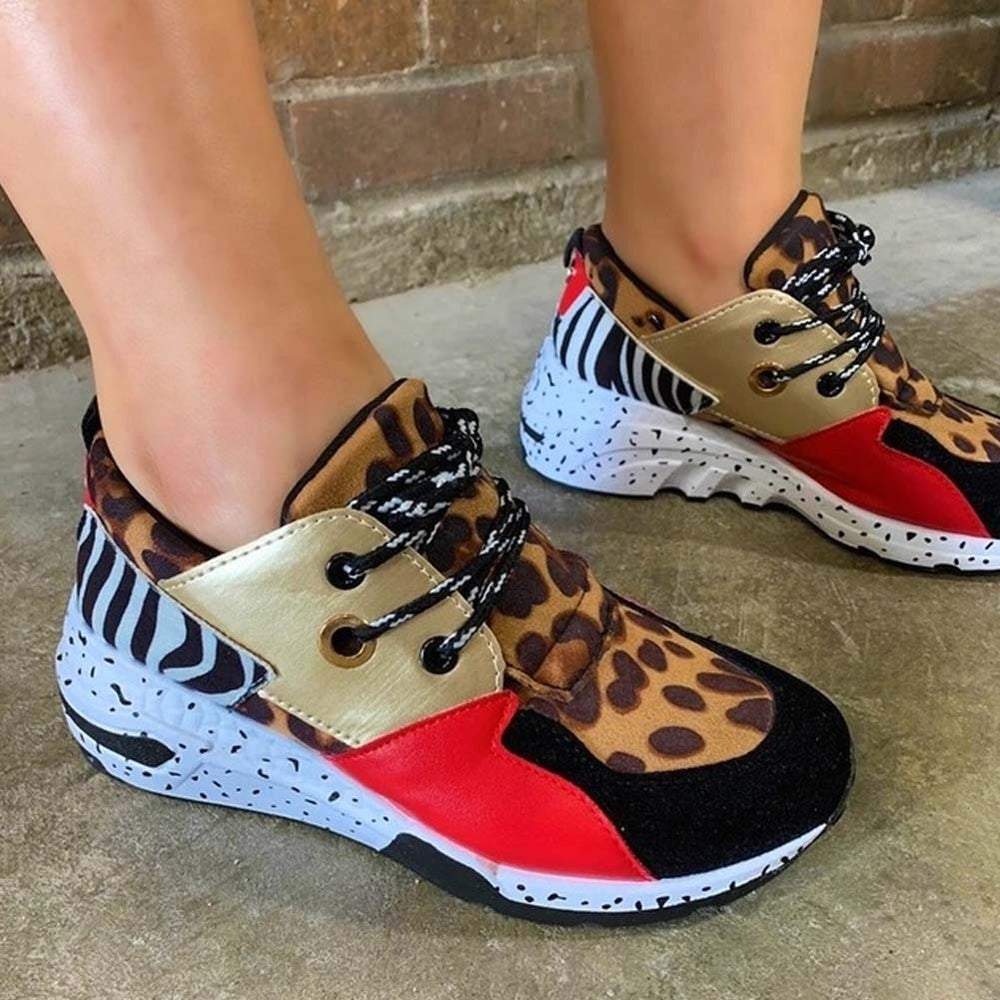Women's Fashion Patchwork Leisure Shoes Sneakers
