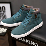 Autumn Male Ankle Boot Tennis Shoes
