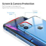 Ultra Slim HD Transparent Phone Case For iPhone