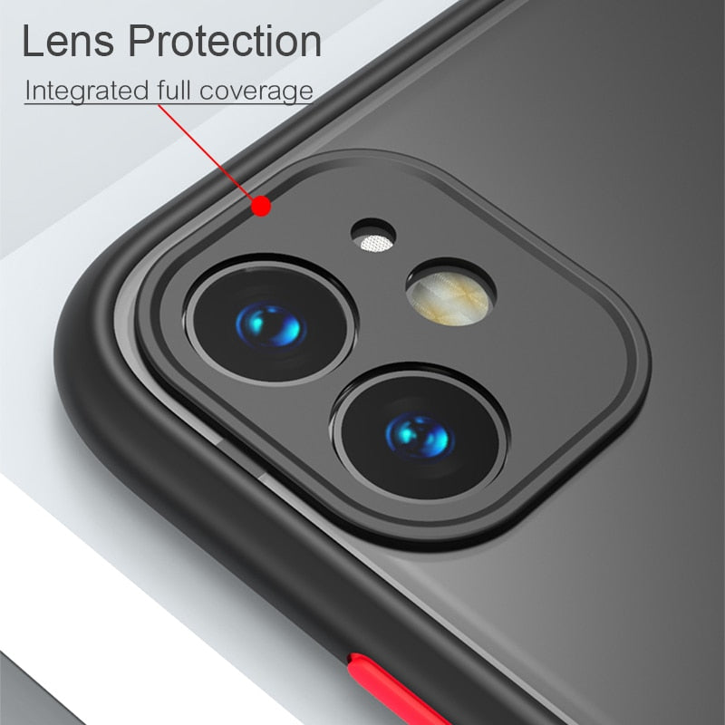 Camera Lens Protection Case For iPhone