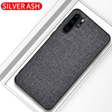 Slim Fabric Skin Hard Back Cover For Huawei