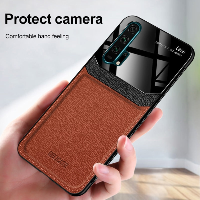Business PU Leather Protection Case for Huawei