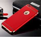 Luxury 3 In 1 Ultra Slim Case for iPhone