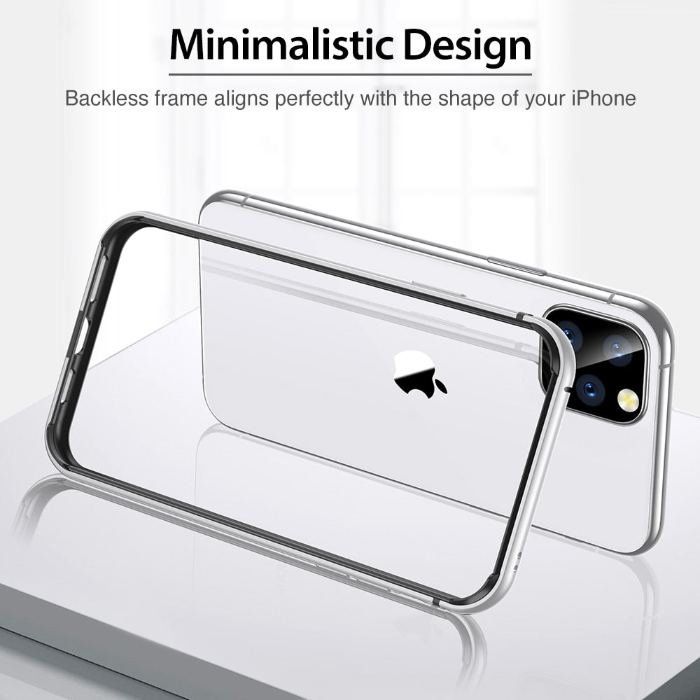 Metal Bumper Soft Case for iPhone