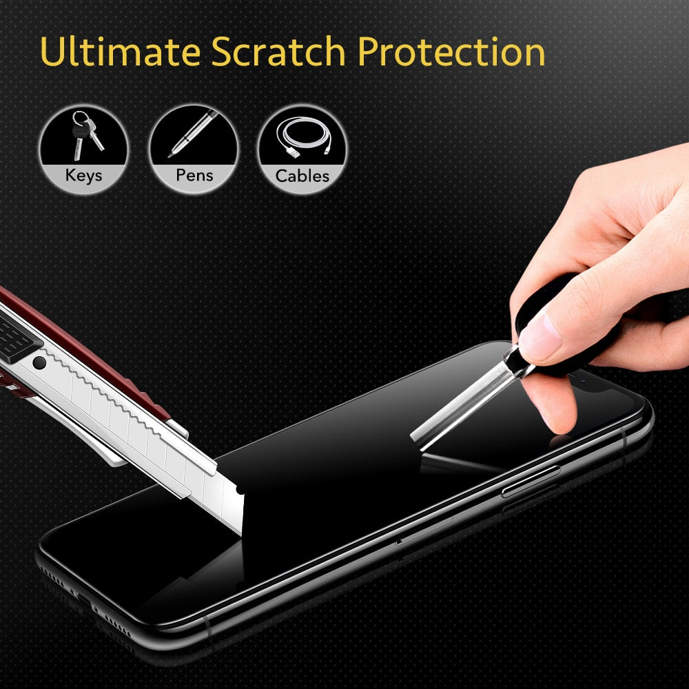 Stronger Tempered Screen Protector for iPhone