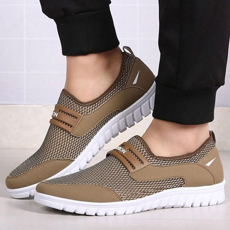 Comfortable Mesh Breathable Lightweight Men's Casual Shoes