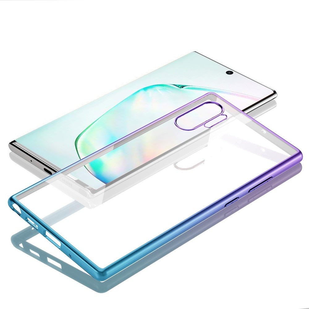 Soft Silicon Transparent Case for Samsung