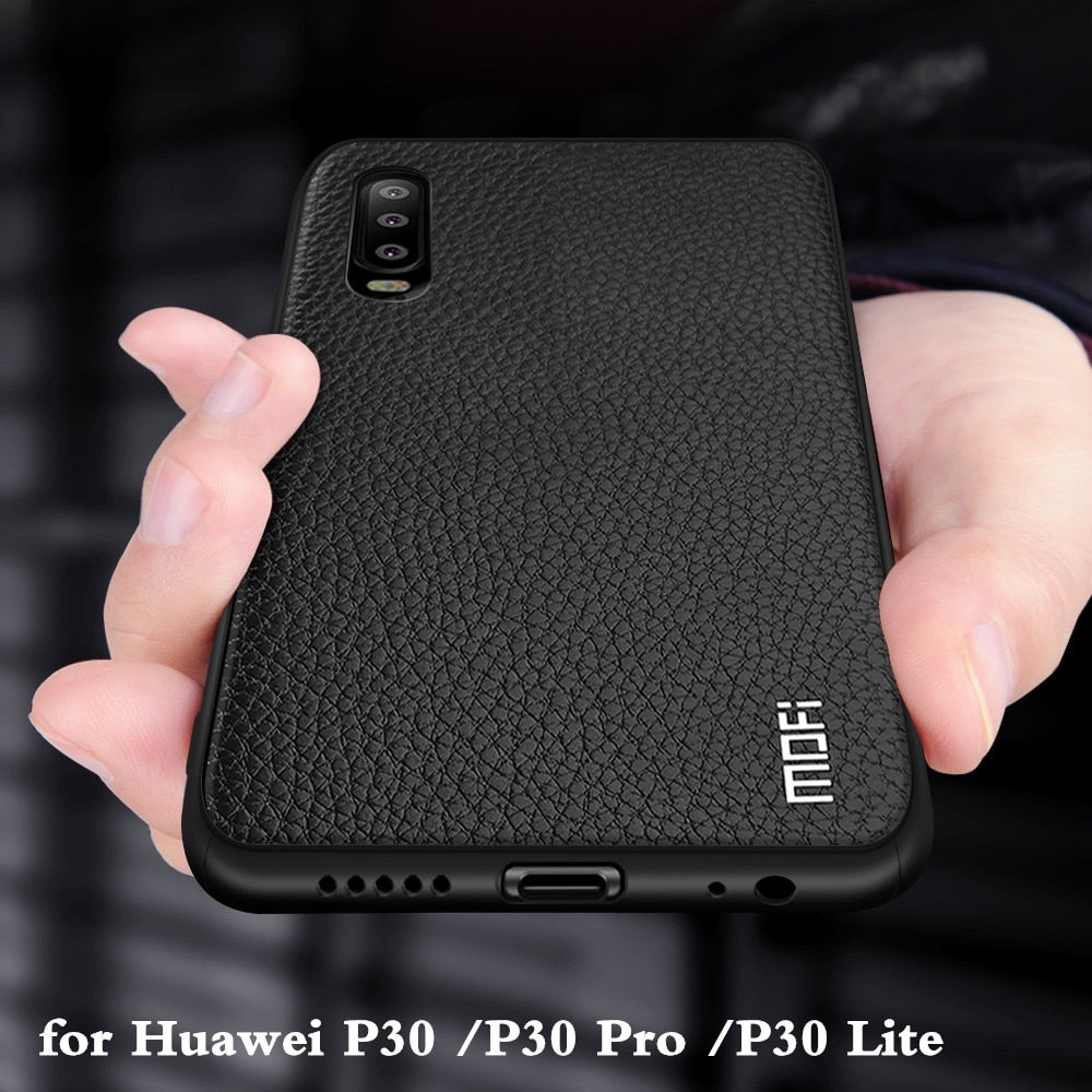 Silicone PU Leather Case For Huawei