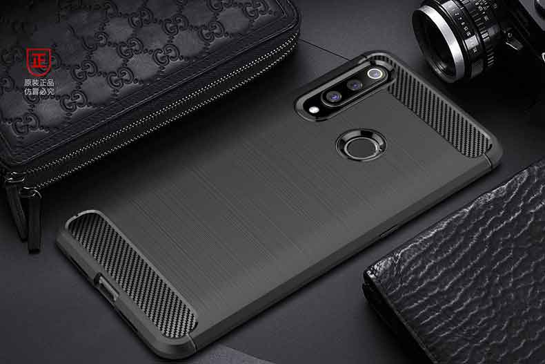 Shockproof Bumper Carbon fiber Full Protection   For Huawei Case