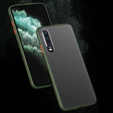 Matte Shockproof Case For Huawei