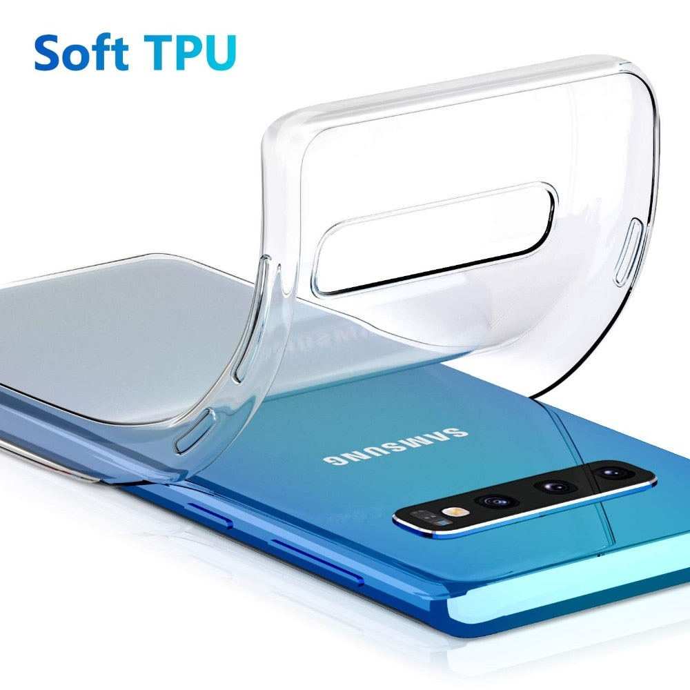 Ultra Thin Clear Soft TPU Case For Samsung GalaxyS10