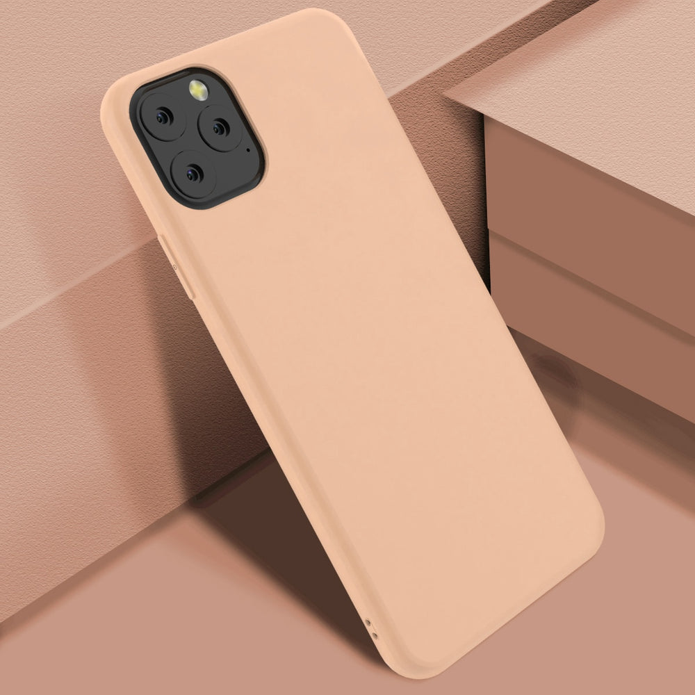 Silicone Original Candy Color Slim Matte Case For iPhone