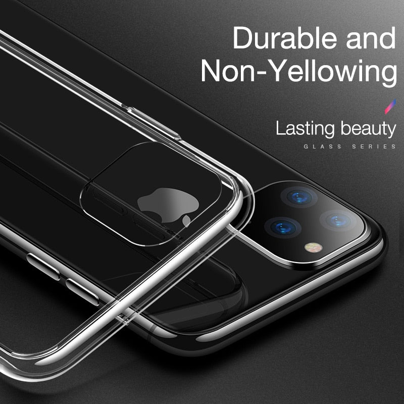 Slim Clear Soft TPU Cover For iPhone