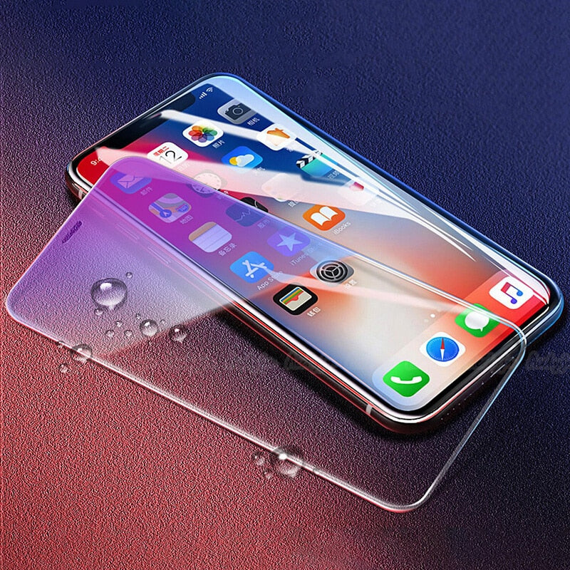 Anti-blue Clear Tempered Glass Screen Protector for iPhone