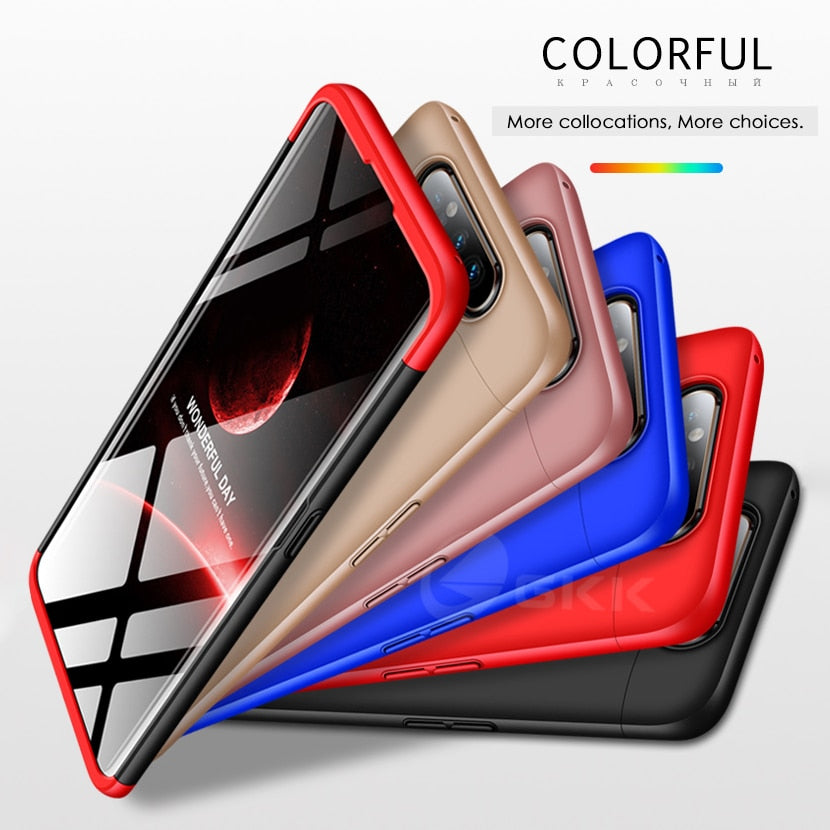 3 in 1 Full Protection Matte Case for Samsung