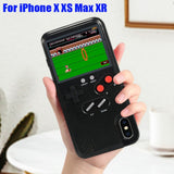Classic Game Console Silicone Cover For iPhone