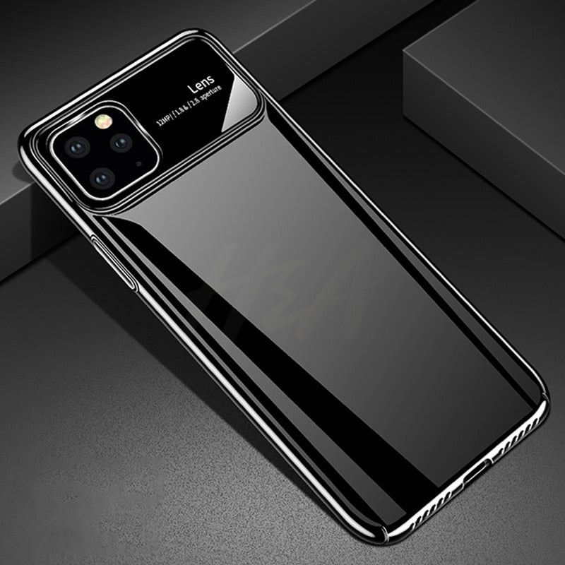 Luxury Mirror Ultra-thin  Glass  Phone Case For iPhone