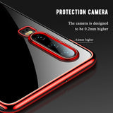 Transparent Soft Silicone Silm TPU Case For Huawei