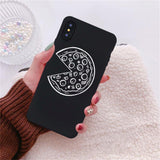 Funny Pizza Soft Back Cover Case For iPhone