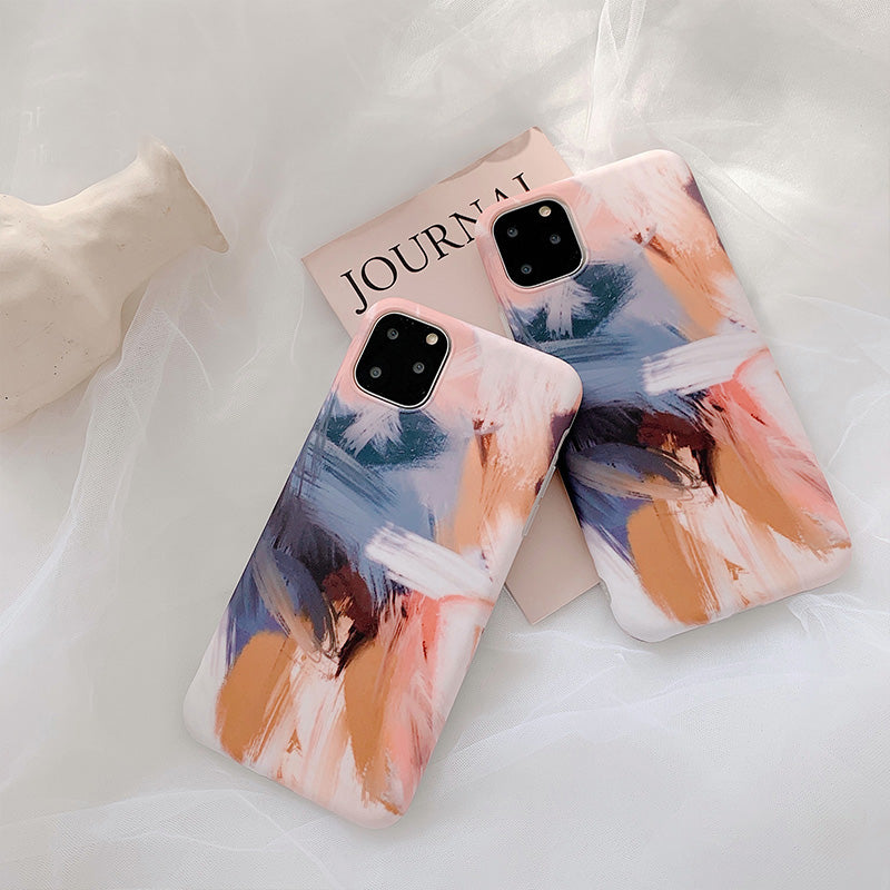 Watercolor Oil Painting Case for iPhone