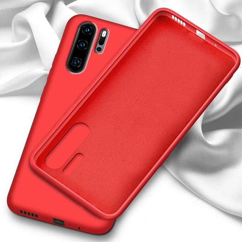 Liquid Silicone Case For Huawei