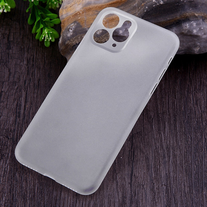 0.26mm Ultra Thin Matte Case For iPhone