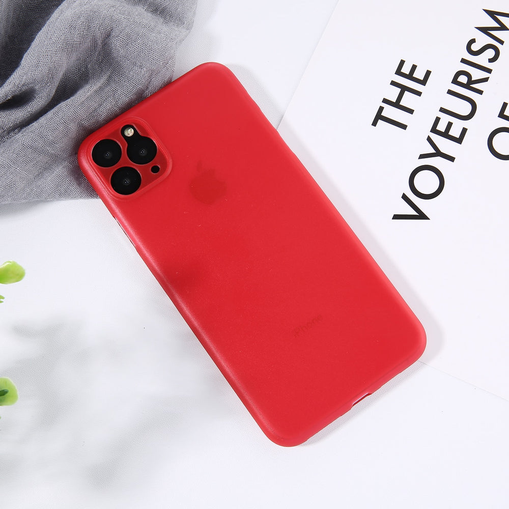 Shockproof Slim Matte  Ultra Thin Phone Case For iPhone