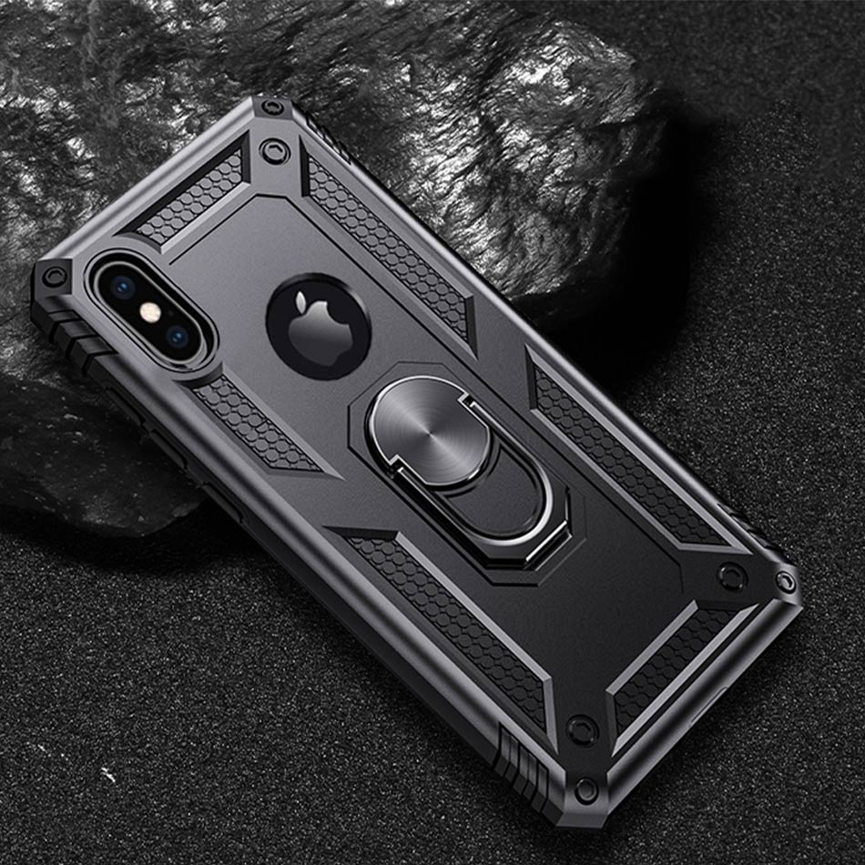 Luxury Magnet Metal Case For iPhone