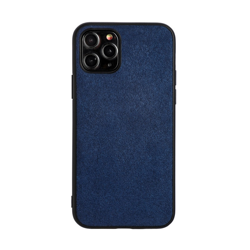 Luxury Suede Leather Cases For iPhone